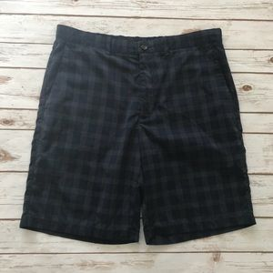 14th & Union Navy blue gray plaid Shorts